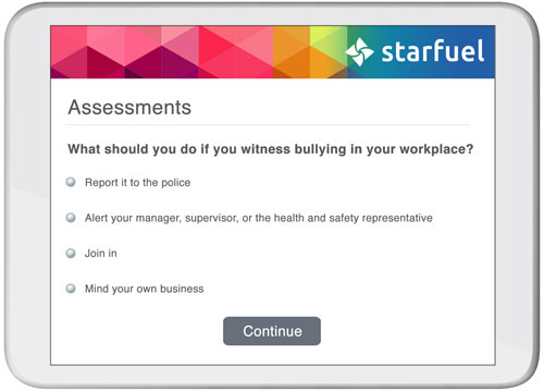 Staff and contractor assessments